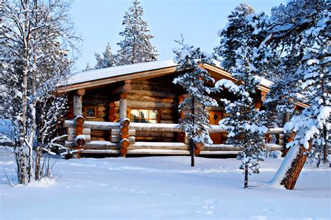 kakslauttanen log cabins 7 winter cabins that you would like to spend winter in