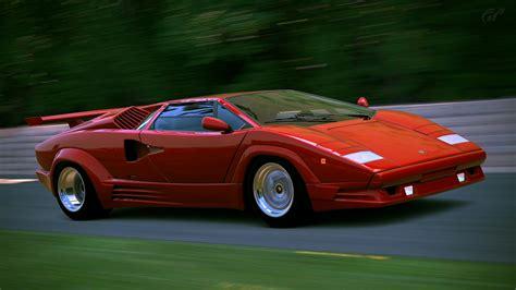 Lamborghini Countach 25th Anniversary (GT6) by