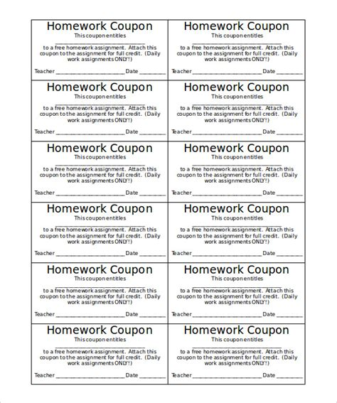 coupon book template microsoft word coupon template coupon book template word