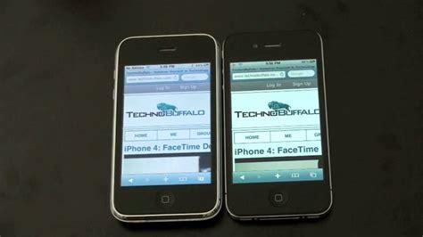 a iphone 4 iphone 4 vs iphone 3gs