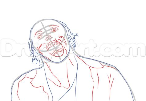 zombie sketch tutorial how to draw a realistic zombie step by step halloween