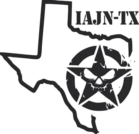 texas jeep stickers iajn state decals