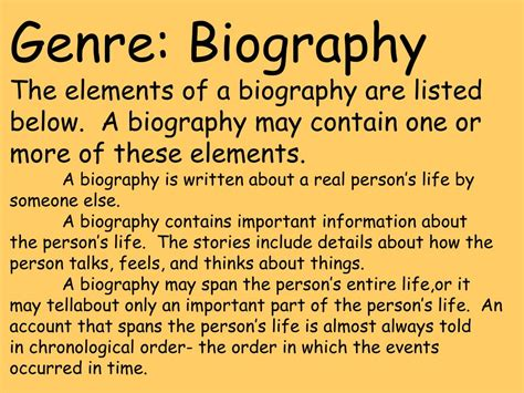 biography genre powerpoint ppt sweeping pittsburgh clean from making headlines a