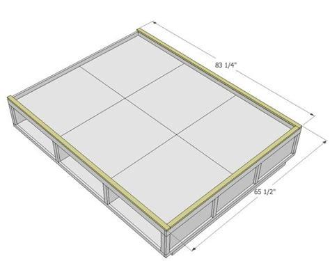 queen platform bed with storage diy queen platform bed with storage quick woodworking projects