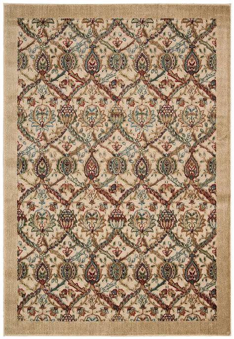 Graphic Area Rugs by Nourison Graphic Illusions Gil15 Light Gold Area Rug