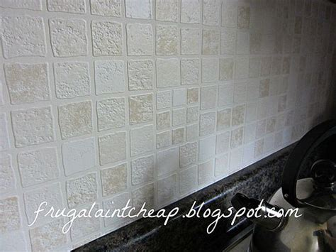 Hometalk Easy And Inexpensive Kitchen Backsplash Washable Wallpaper For Kitchen Backsplash