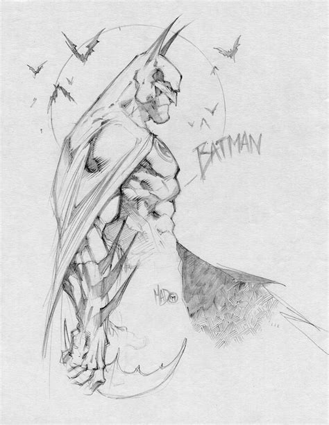 sketchbook joe madureira batman skech comic community gallery of comic