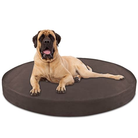 orthopedic dog beds large orthopedic dog beds large majestic pet grey zig zag round