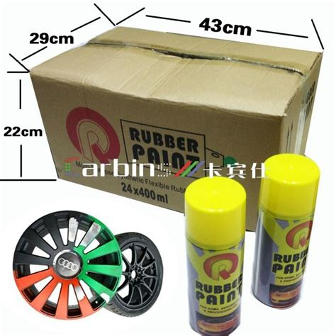Promo Termurah Carlas Rubber Paint Special Price 1 colorful car rubber paint spray peelable instantly spray paint carbins china