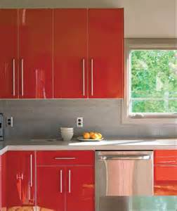 How To Shine Kitchen Cabinets The New Shining Of The Kitchen Is High Gloss Cabinetry