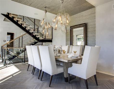 denver design showhome contemporary dining room