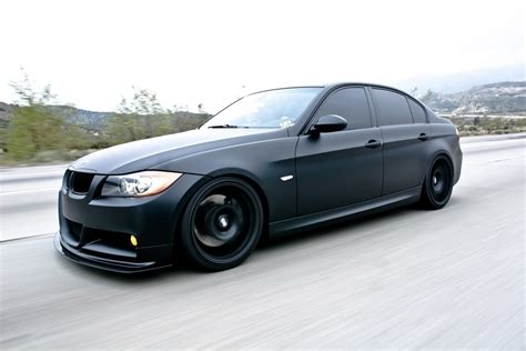 matte black bmw bmw 335i in matte black