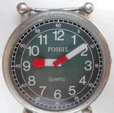 Vintage Leather Pilot Series fossil retro pilot series fossil collectors club