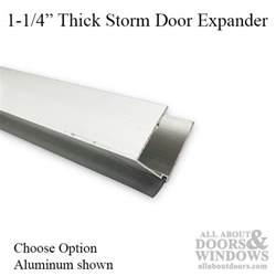 door sweeps and expanders
