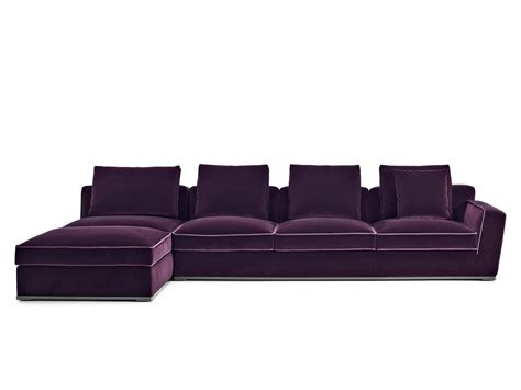 solatium sofa with chaise longue solatium collection by