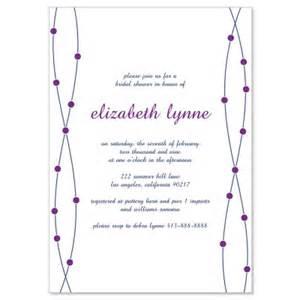 blue purple bridal shower invitation templates