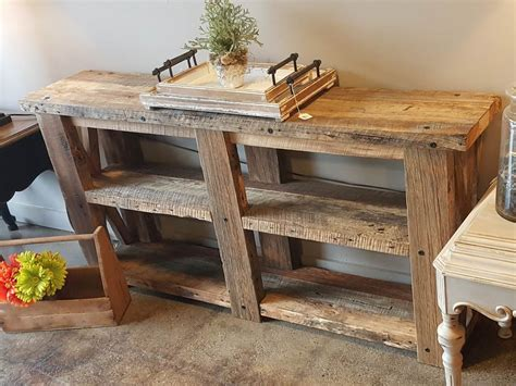 Barnwood Sofa Table Barnwood Sofa Table Ng471 Sisters Log Barn Wood Sofa Table