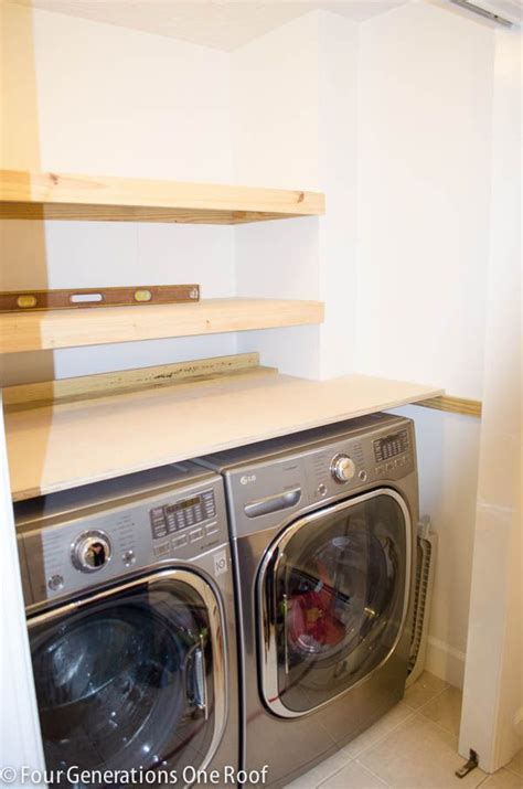 Fold Shelf For Laundry Room by 25 Best Ideas About Laundry Shelves On