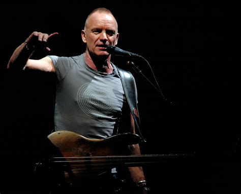 Sting Out Bland Keyboards by Get Ready To Rock Review Of Gig Featuring Sting