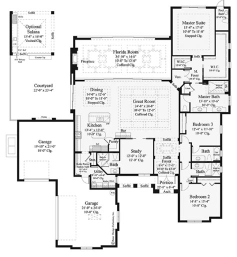 floor plans for single story homes house plans for single story homes traintoball