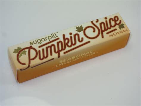 Sugar Pill Liquid Lip Color sugarpill pumpkin spice liquid lip color review swatches cosmetics