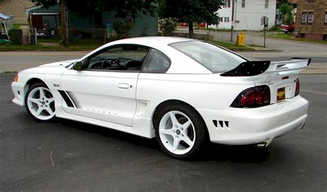 1995 white mustang white 1995 saleen s351 r ford mustang coupe