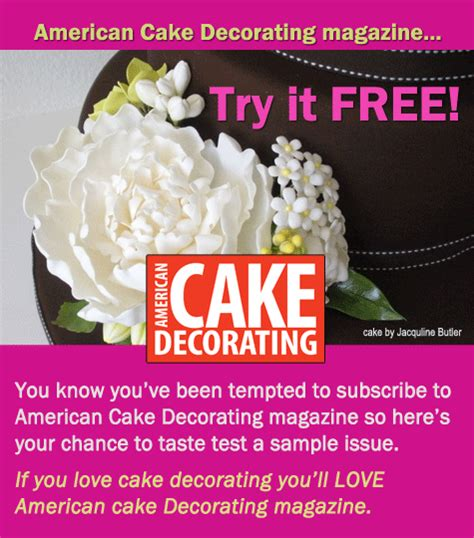American Cake Decorating Magazine by Shiv S Sweet Delights American Cake Decorating Magazine