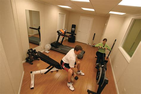 Garage Laundry Room Design home gym ideas designing a home gym in your finished basement