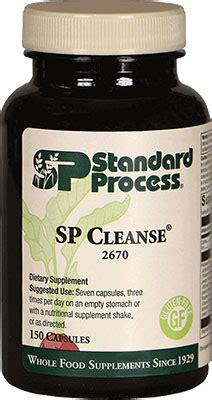 Liver Detox Standard Process by Sp Cleanse By Standard Process Holistic Preventive