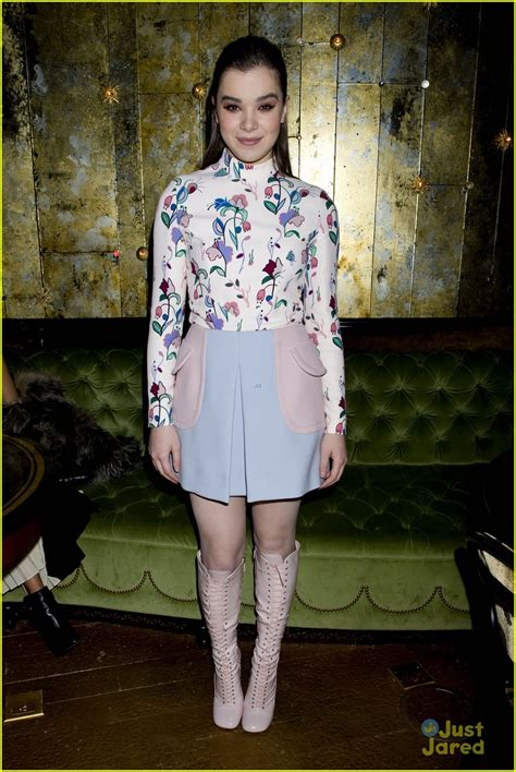 Miu Mius Aw0607 Advertising Caign by Hailee Steinfeld Miu Miu Hailee Steinfeld At Miu Miu S