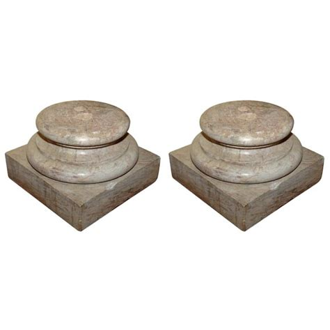 Pedestals For Sale 18th Century Marble Pedestals For Sale Antiques