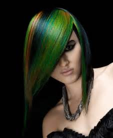 hair coloring beautiful greens hair colors ideas