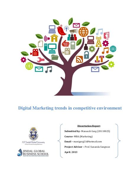 thesis on social media marketing in india social digital media a report on new trends in industry