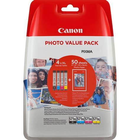 Detox Value Pack 300 Guaranteed by Buy Canon Cli 571xl High Yield Bk C M Y Ink Cartridge