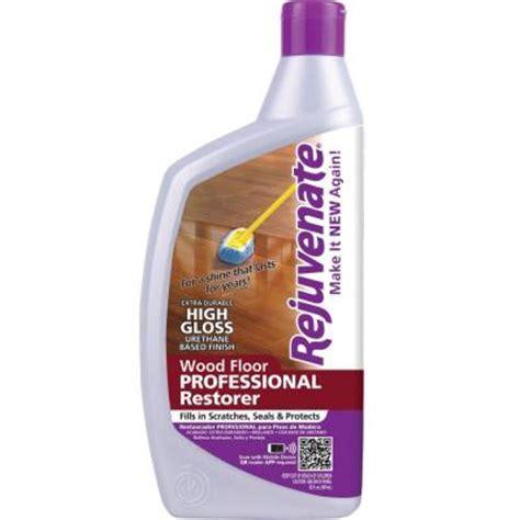 rejuvenate 32 oz professional high gloss wood floor restorer rj32profg the home depot
