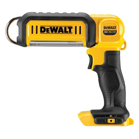 dewalt led portable work light dewalt dcl050 18v li ion xr cordless handheld led