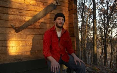Justin Vernon Cabin by Bon Iver Comes Out Of Hibernation The Boston Globe