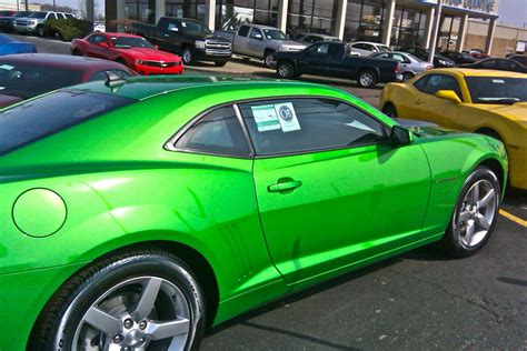 2014 green camaro ss paint code autos post