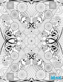 intricate coloring pages for adults rosette intricate patterns coloring pages hellokids