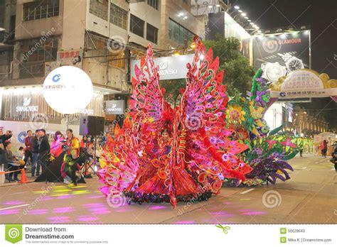 new year cookies hong kong hong kong new year parade editorial image