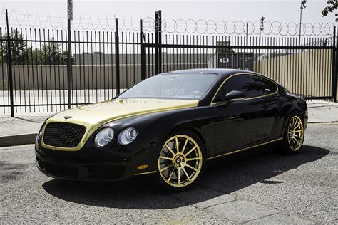 black and gold bentley bentley forgiato gold wheels 4