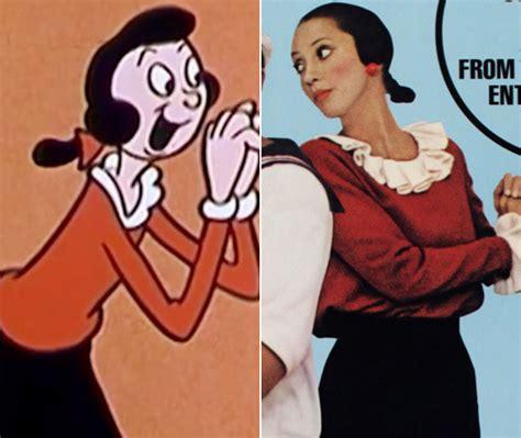 Olive Oyl olive oyl top 10 animated characters made real zimbio