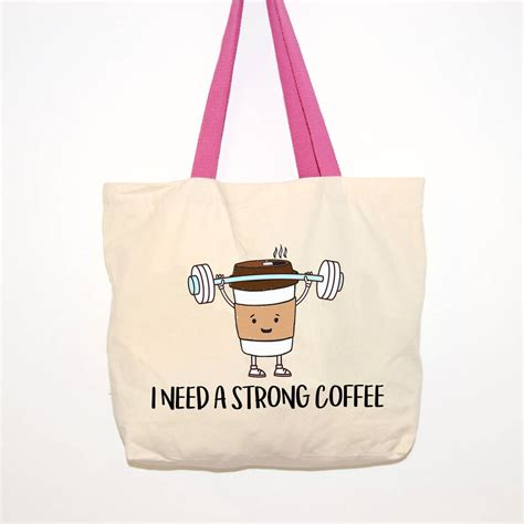 Coffee Tote strong coffee tote bag by of lemons