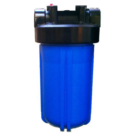 water filter housing big blue jumbo 10 quot water filter housing with 1 quot bsp ports for high capacity