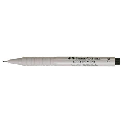 Ink Pen 0 5 Mm faber castell 166599 ecco pigment ink pen 0 5 mm black