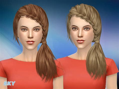 sims 4 hair the sims resource sims 4 hairs the sims resource hair 101 by skysims