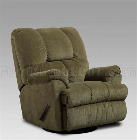 fabric rocker recliners olive fabric modern elegant swivel rocker recliner