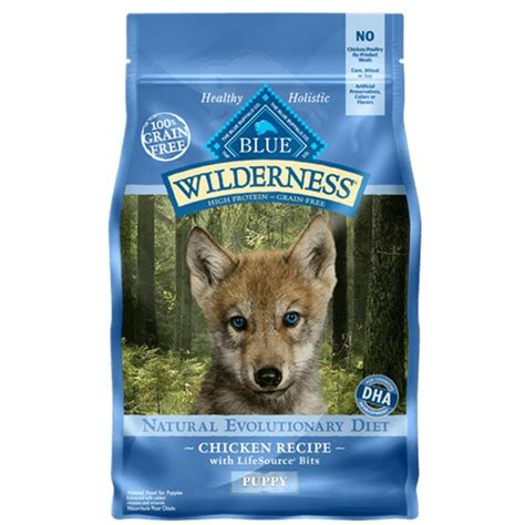 blue buffalo puppy food reviews buy blue buffalo wilderness grain free chicken recipe puppy food
