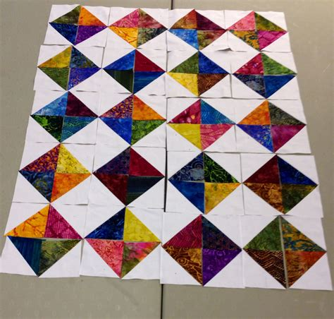 Half Square Triangle Quilt Layouts by Half Square Triangle Layout Quilting Inspiration