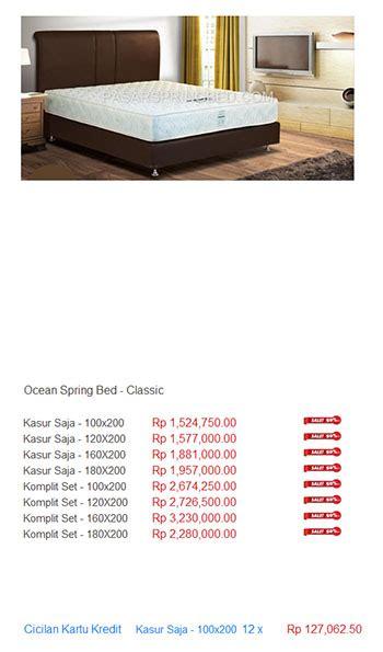 Daftar Kasur Palembang Terbaru harga bed harga bed termurah di